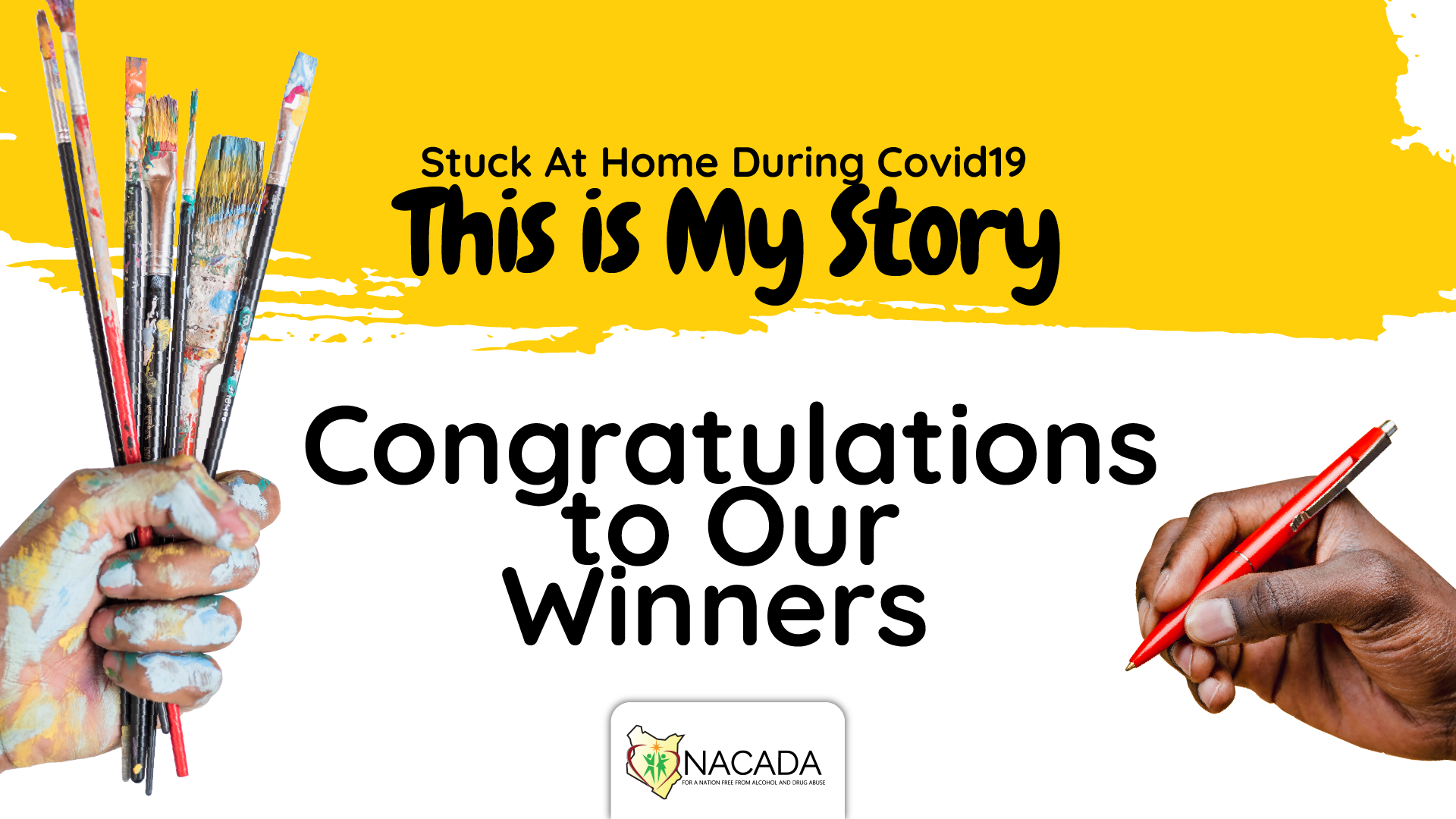 NACADA Congratulations to our winners