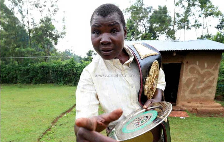 NACADA SUPPORTS THE TREATMENT AND REHABILITATION OF KENYA'S BOXING CHAMPION CONJESTINA ACHIENG