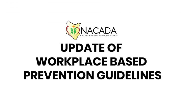 update of workplace based prevention guidelines